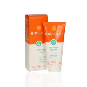 BIOSOLIS-Mlijeko-za-sunčanje-za-tijelo-i-lice-SPF30,-100-ML-kalendula