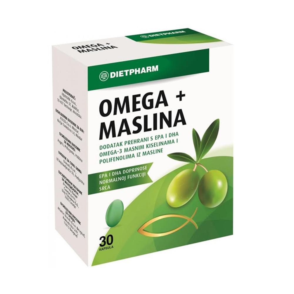 Dietpharm Omega+Maslina