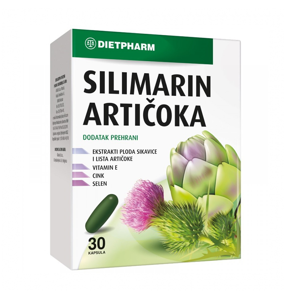 Dietpharm Silimarin Artičoka