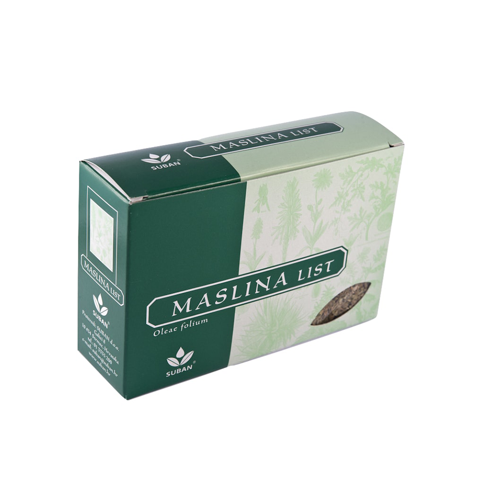 MASLINA LIST 40 g, SUBAN