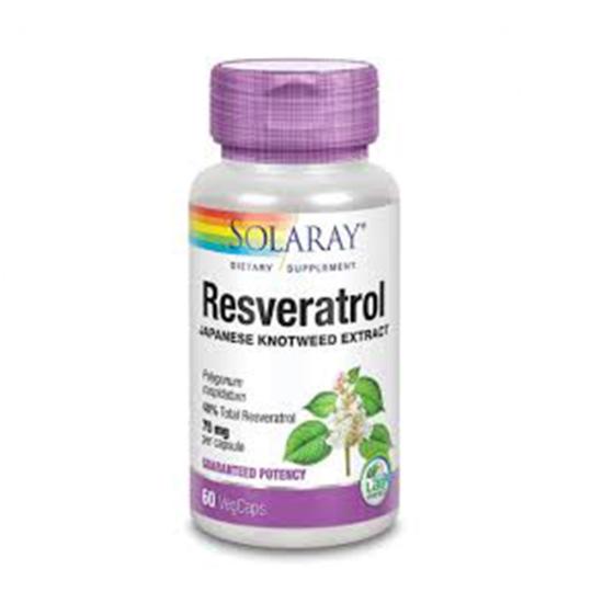 Resveratrol SOLARAY 60 KAPSULA