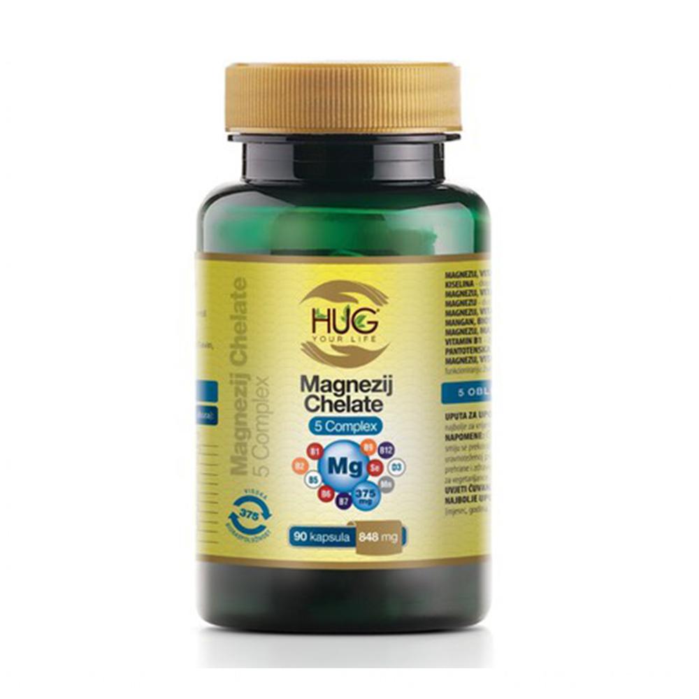 Magnezij kelat 5 complex, HUG YOUR LIFE