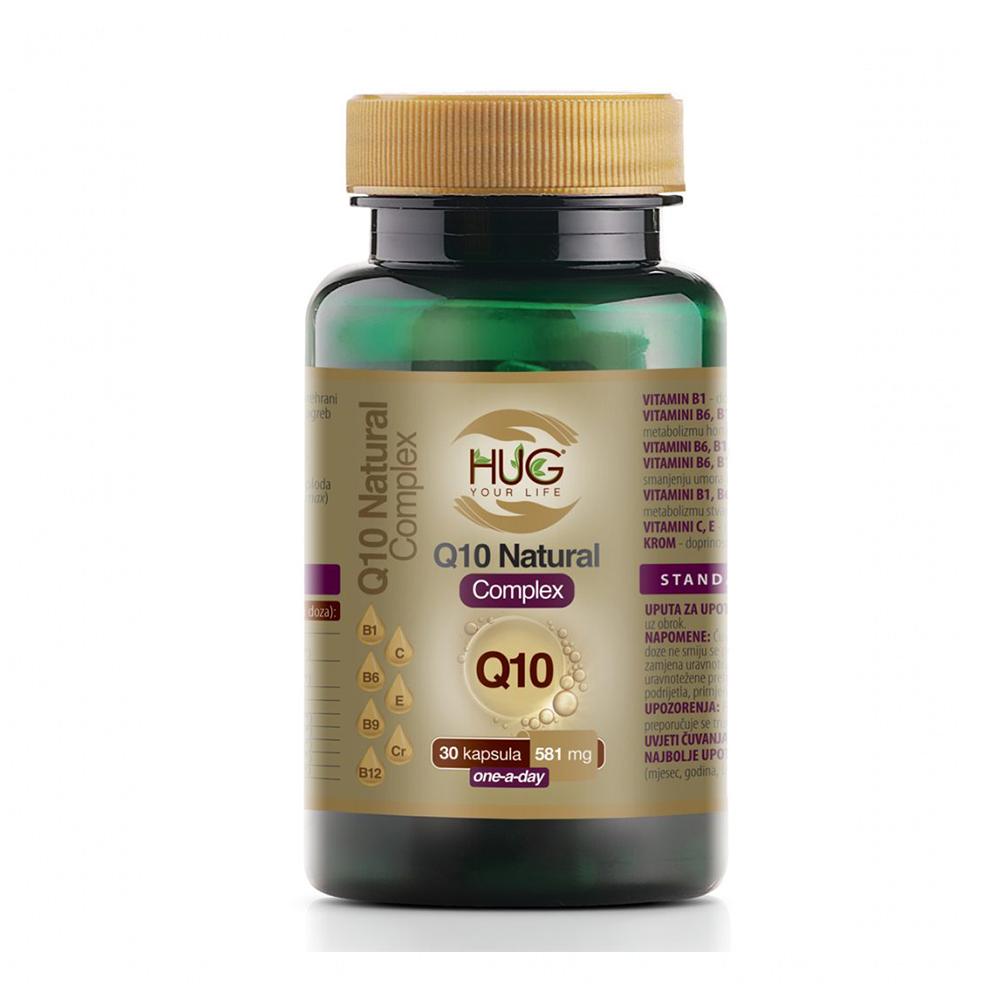 Q10 Natural complex, HUG YOUR LIFE