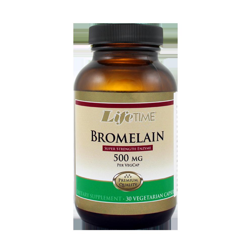 LIFE TIME BROMELAIN KAPSULE, 500 mg