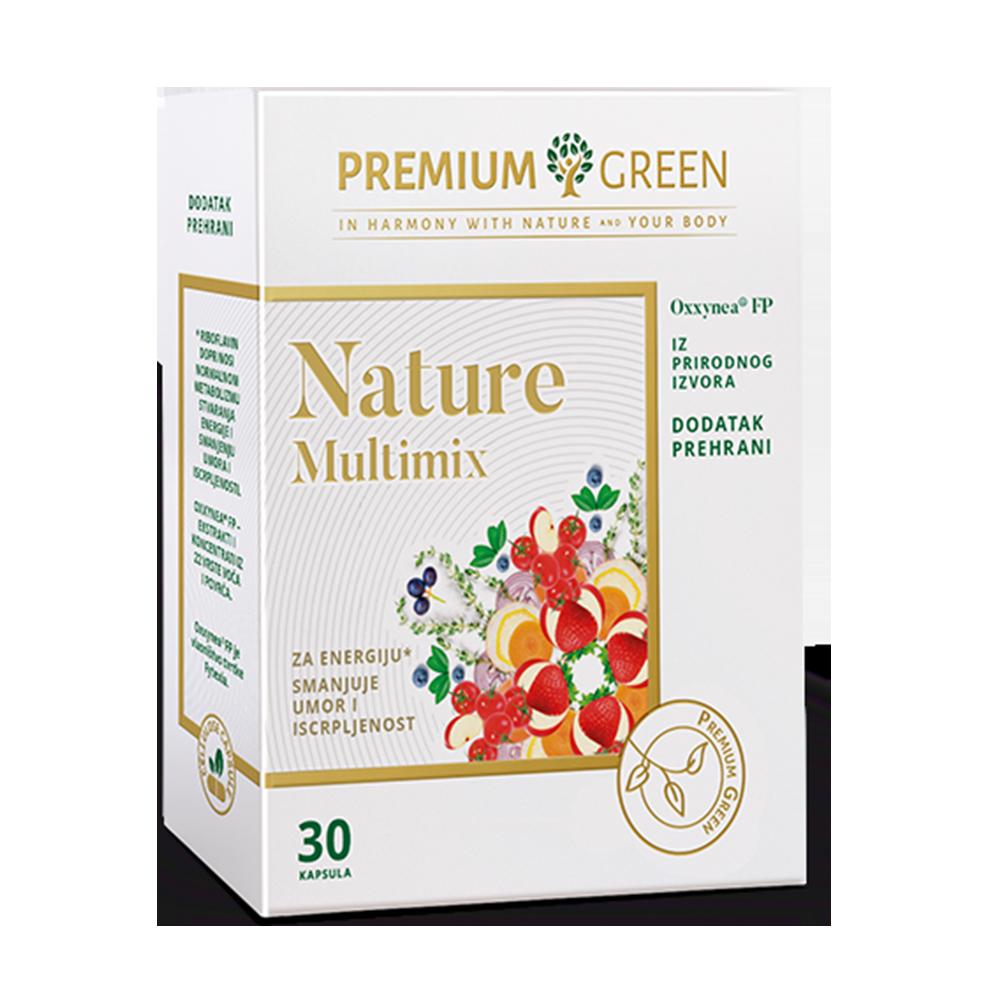 NATURE MULTIMIX PREMIUM GREEN, KAPSULE