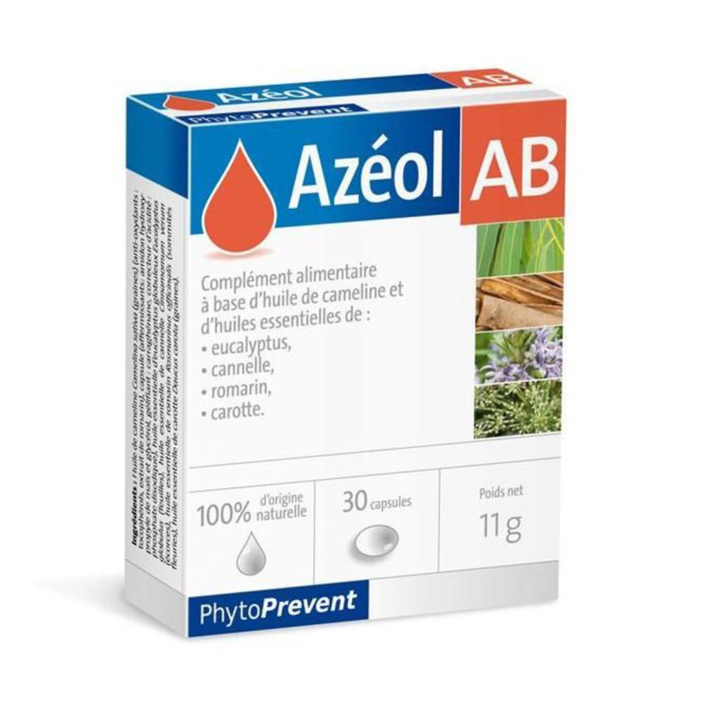 AZEOL AB, 30 KAPSULA