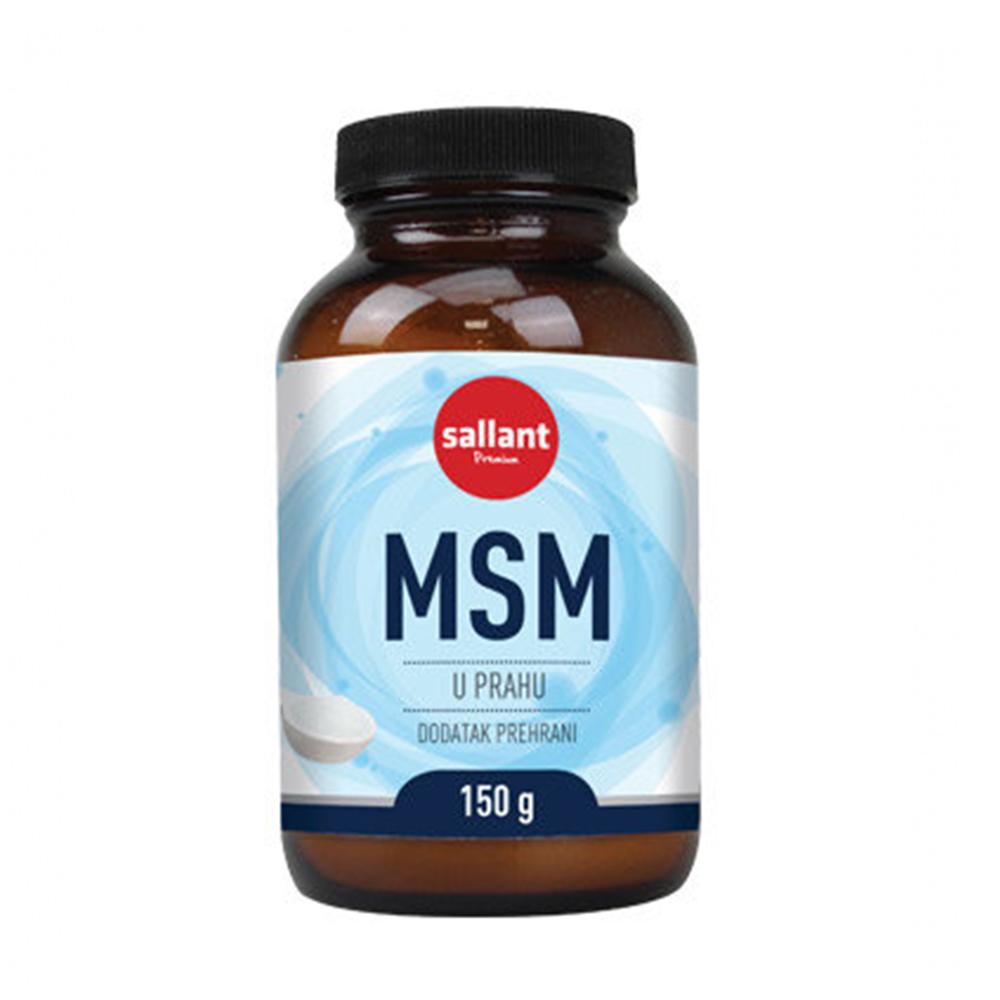 MSM prah 150 G, SALLANT