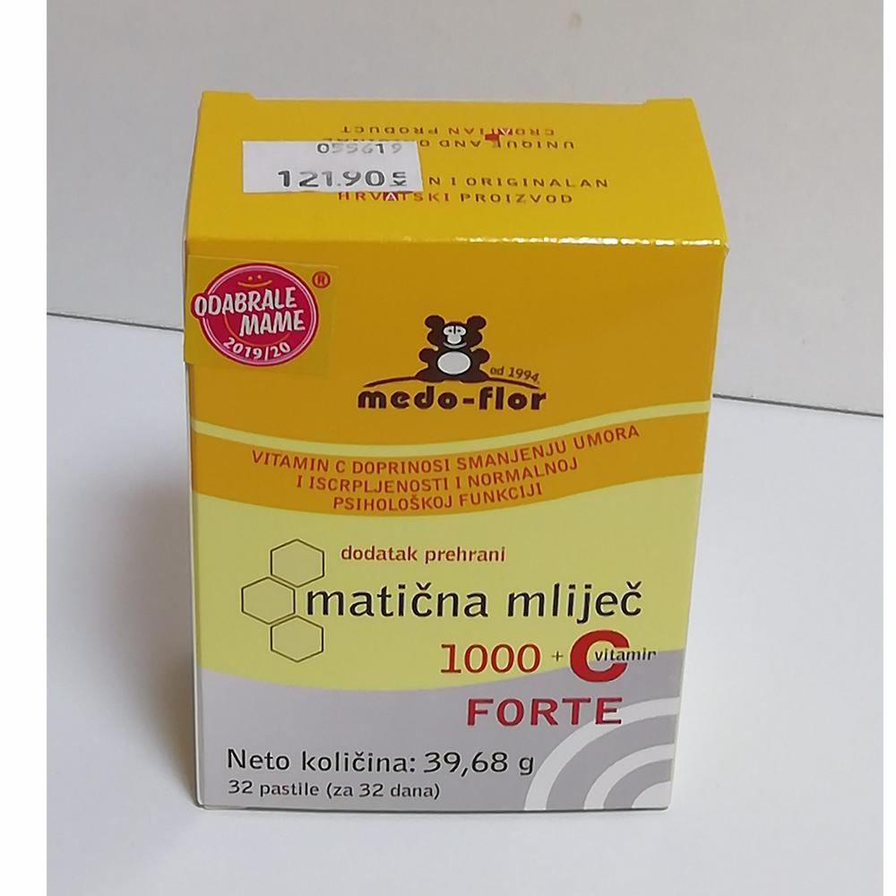 MATIČNA MLIJEČ 1000+VITAMIN C, 32 PASTILE