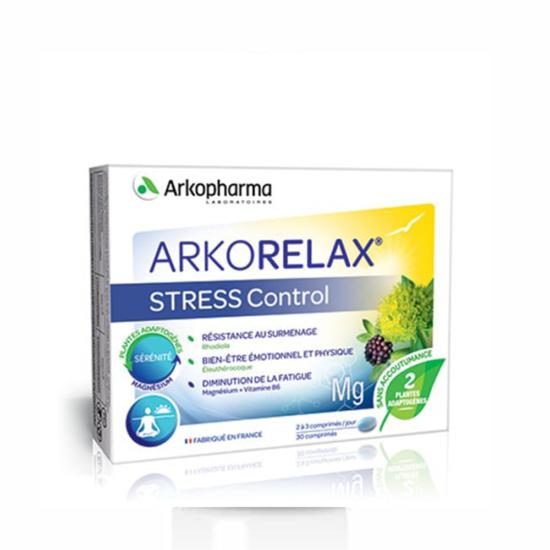 ARKORELAX STRESS CONTROL TABLETE