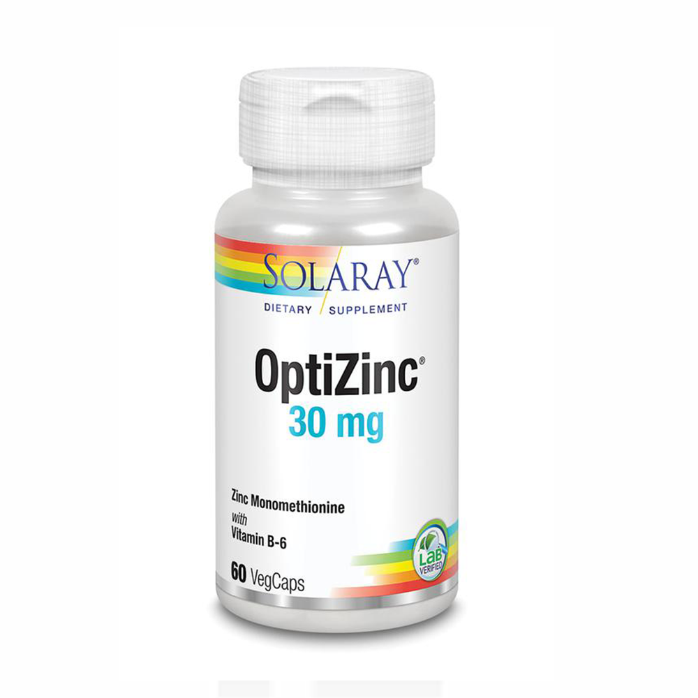 OptiZinc 30 mg, SOLARAY,60 KAPSULA